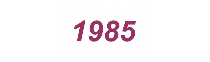 All our wines from 1985